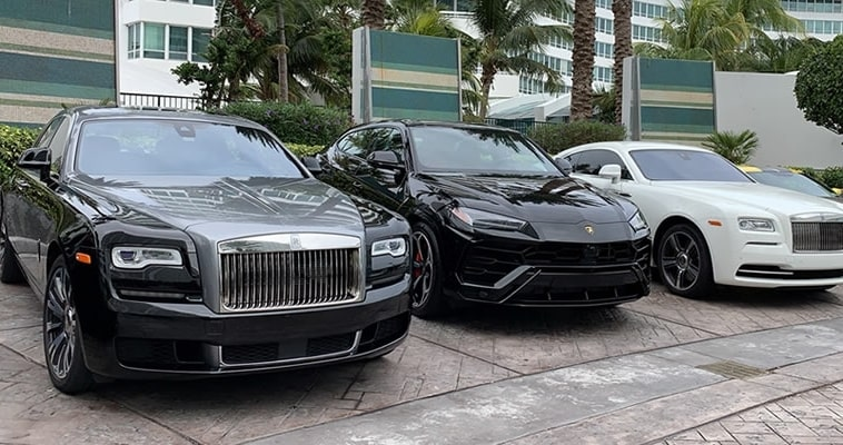 exotic car rental key biscayne